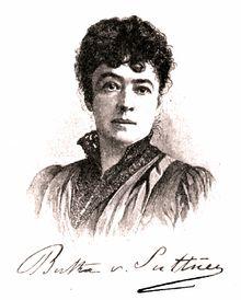 Bertha von Suttner – Wikipedia