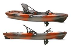 Considered game-changer in hands-free fishing, the Slayer Propel 13 fishing kayak from Native Watercraft is unmatched in its ability to maintain casting distance, pull away from structure or stop on a dime when trolling to relieve rod pressure.