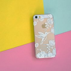 FLYING HUMMINGBIRD  PHONE CASE