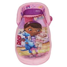 My First Ready Toddler Travel Portable Air Mattress Inflatable Air Sleepover, Camp Bed
