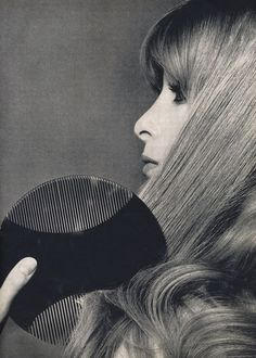 Hair beauty in Vogue, 1968