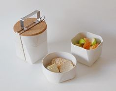 A must for the family - Ceramic Lunchbox.   pinned by www.auntbucky.com   #food #storage