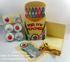 Teacher Gift by scrapnforfun - Cards and Paper Crafts at Splitcoaststampers