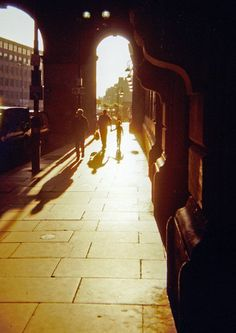Morning Shadows at Central Station, Newcastle upon Tyne
