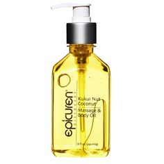 Epicuren Kukui Coconut Massage Oil & Body Oil