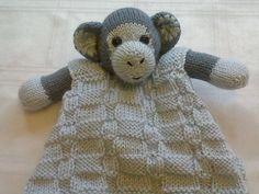 (6) Name: 'Knitting : Monkey Buddy Comfort Blanket
