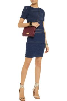 Isabel MarantDag silk-chiffon mini dressfront
