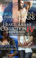 Hearts Aflame Collection IV: 4-Book Bundle   ***THIS BOOK IS PERMA-FREE***  I'm proud to release this fourth Hearts Aflame Collection. Thank you for all your amazing support.   Sinful Temptation (A Worthwhile Sin, Book 1) Sin knows music. She lives it, eats it, breathes it. And now she's going to report it. All she needs is to land the interview of a lifetime with rock's sex god, Tate McQueen.