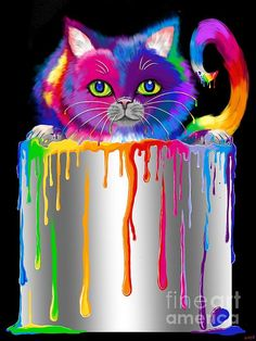 "This reminds me of The Golden Book ""The Colour Kittens"". It was one of my favourites."