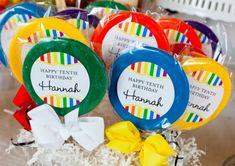 fiesta de cumpleaños arco iris