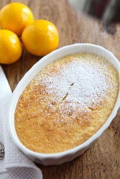 Meyer Lemon Pudding Cake from www.twopeasandtheirpod.com #recipe