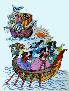 Livia Rusz - Basme - Wilhelm Hauff Fairy Tales, Princess Zelda, Fictional Characters, Art, Art Background, Kunst, Fairytail, Adventure Movies, Performing Arts