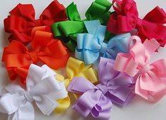 Colors of bows