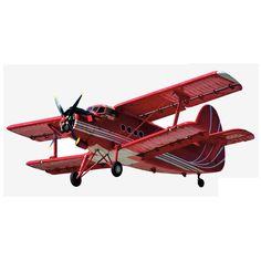 Cuadros con siluetas de aviones antiguos.