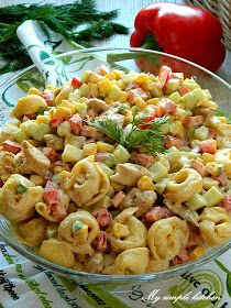 My simple kitchen: Zupa brokułowa z serkiem topionym Vegetarian Vs Vegan, Vegetarian Benefits, Vegetarian Main Meals, Vegetarian Pasta Recipes, Salad Recipes, Diet Recipes, Healthy Recipes, Tortellini, Cheap Easy Meals
