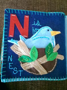 """N is for Nest"" page"