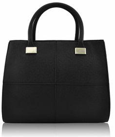 Beautiful black handbag - Anastasia Black - Have to Have Heels Designer Totes, Designer Handbags, Grab Bags, Satchel Handbags, Black Handbags, Leather Fashion, Backpacks, Tote Bag, Celebrity