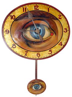 I wonder how difficult it is to make a pendulum on a clock. I've made clocks before, but never that way.