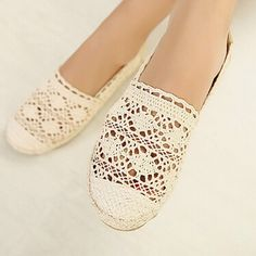 Lace Cut Outs Canvass Slip-ons Casual Flat Shoes     Tag a friend who would love this!     FREE Shipping Worldwide | Brunei's largest e-commerce site.    Get it here ---> https://mybruneistore.com/free-shipping-new-women-casual-flat-shoes-fashion-slip-on-round-toe-loafers-lace-cut-outs-straw-hemp-rope-canvas-shoes/