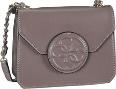Guess Amy Crossbody Flap Taupe - Abendtasche   Clutch