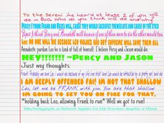 ~Ask the Demigods~ question for the seven asked by @greentess425 I love that Leo called him Fai!