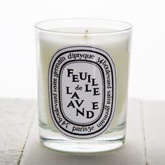 Diptyque Feuille de Lavande (Lavender Leaf) Candle (6.5oz) - CANDLES & HOLDERS - HOME DECOR
