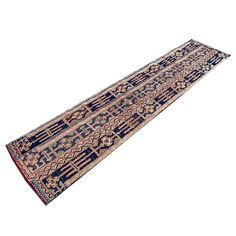 Dark Navy blue, pink, salmon, and ivory Turkish rug for a modern or transitional style home. Entryway Rug, Hallway Rug, Dark Navy, Navy Blue, Pink And Blue Rug, Red Runner Rug, Floral Rug, Transitional Style, Home Decor Accessories