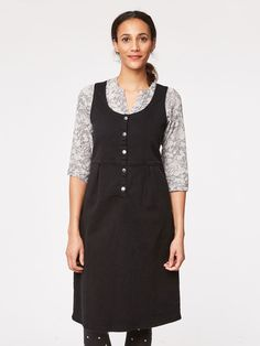 Sonia Organic Cotton Pinafore Dress