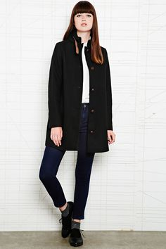Urban Outfitters wool coat