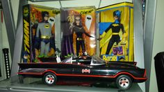 My Barbie Collection in boxes(Never Opened) as of May 2017.  DC Characters: Batman; Catwoman; and Batgirl.