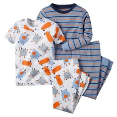 online shopping for Carters Baby Clothing Outfit Boys Snug Fit Cotton PJs Multi Monster Stripe from top store. See new offer for Carters Baby Clothing Outfit Boys Snug Fit Cotton PJs Multi Monster Stripe Baby Outfits, Toddler Outfits, Kids Outfits, Baby Boy Pajamas, Carters Baby Boys, Toddler Boys, Toddler Pajamas, Infant Toddler, Boys Pjs