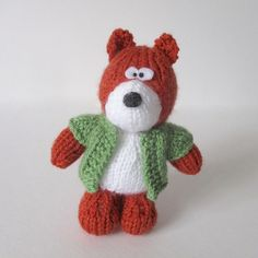 Ravelry: Robbie the Fox pattern by Amanda Berry