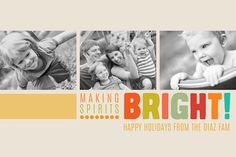 Create Your Own Christmas Photo Card With These Free Templates: Creative Life's Free Christmas Photo Card Templates