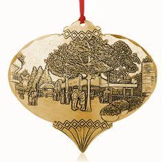 Bronze Kennywood's Magical Entrance Ornament by Linda Barnicott