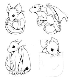mouse and dragon by h0lyhandgrenade on deviantart