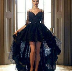 Dark fashion on We Heart It