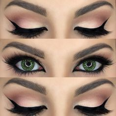 When it comes to eye make-up you need to think and then apply because eyes talk louder than words. The type of make-up that you apply on your eyes can talk loud about the type of person you really are. It doesn't really matter if y Makeup Goals, Makeup Inspo, Makeup Inspiration, Makeup Tips, Makeup Ideas, Makeup Tutorials, Makeup Style, Makeup 2016, Makeup Trends