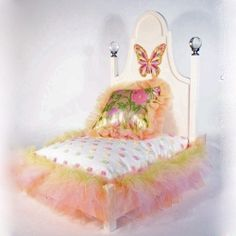 Butterfly Luxury Dog Bed