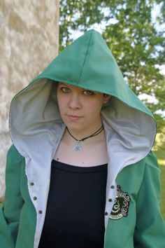 MADE TO ORDER  quidditch uniform tunic green by RavenThreadsLab
