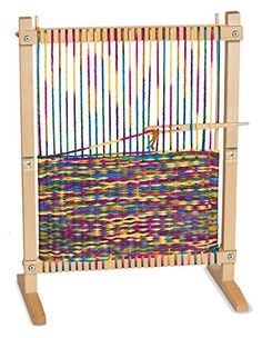 Melissa & Doug Multi-Craft Weaving Loom - http://www.tradedivine.com/melissa-doug-multi-craft-weaving-loom/