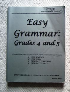 Easy grammar daily grams workbookanswer key jrsenior high wanda easy grammar grade 4 and 5 teacher student text wanda c phillips textbookbundlekit fandeluxe Choice Image