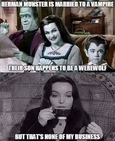 Munsters and Addams