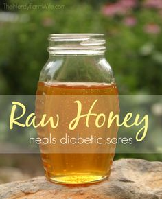How raw honey helped save my dad's diabetic foot