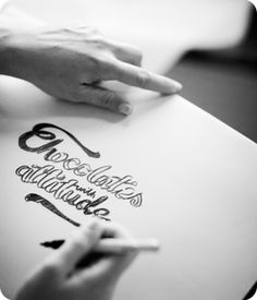 Creating the brand illustrations for Chocolates with Attitude
