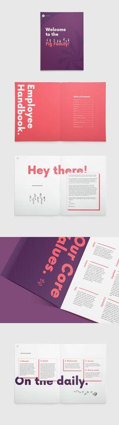 26 best Print / Brochures images on Pinterest Employee handbook