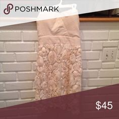 Modcloth Vanilla Cream and Sugar Dress ✨SALE✨ Beautiful floral creamy offwhite dress ModCloth Dresses Mini