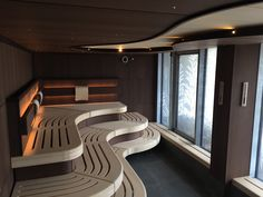 Spa Interior, Bathroom Interior, Home Interior Design, Saunas, Sauna House, Sauna Room, Mini Sauna, Trailer Casa, Massage Room Design