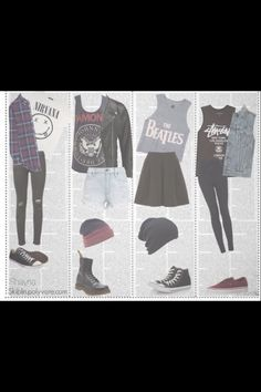 fd1cd98fd5aa I would wear all of these outfit so my style... 5sos Outfits