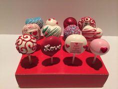 Valentines Day Cake Pops