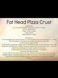 FatHead pizza crust !